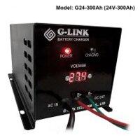 Sạc ắc quy tự động công suất lớn G-Link G24-300Ah