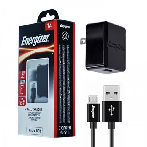Sạc Energizer CL Micro USB 1A ACA1AUSCMC3