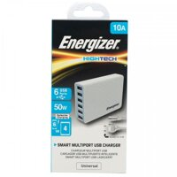 Sạc Energizer HT 10A 50W 6USB USA6EEUHWH5