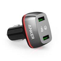 Sạc ô tô Anker PowerDrive+ 2 QC 2.0 A2221 - 2 cổng, 36W
