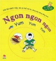 Sách song ngữ - Học tiếng Anh cùng Cà Rốt - Ngon ngon ngon