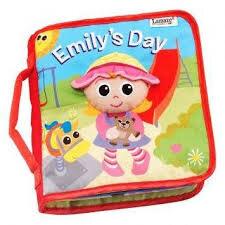 Sách vải bìa hình Emily Lamaze LC27903