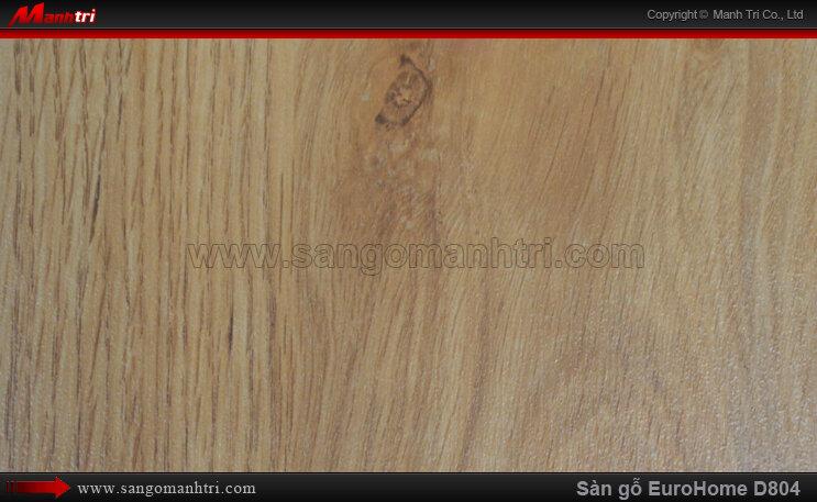 Sàn gỗ công nghiệp EuroHome D804
