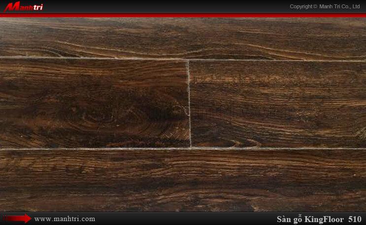 Sàn gỗ công nghiệp KingFloor 510