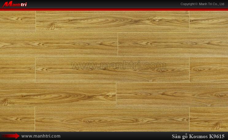 Sàn gỗ công nghiệp Kosmos KM 9615