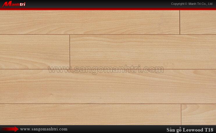Sàn gỗ công nghiệp LeoWood T18