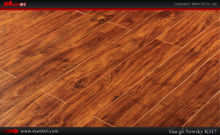 Sàn gỗ công nghiệp Newsky K317
