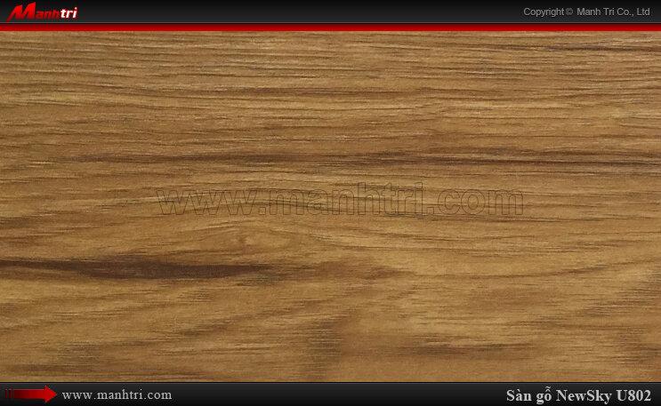 Sàn gỗ công nghiệp NewSky U802