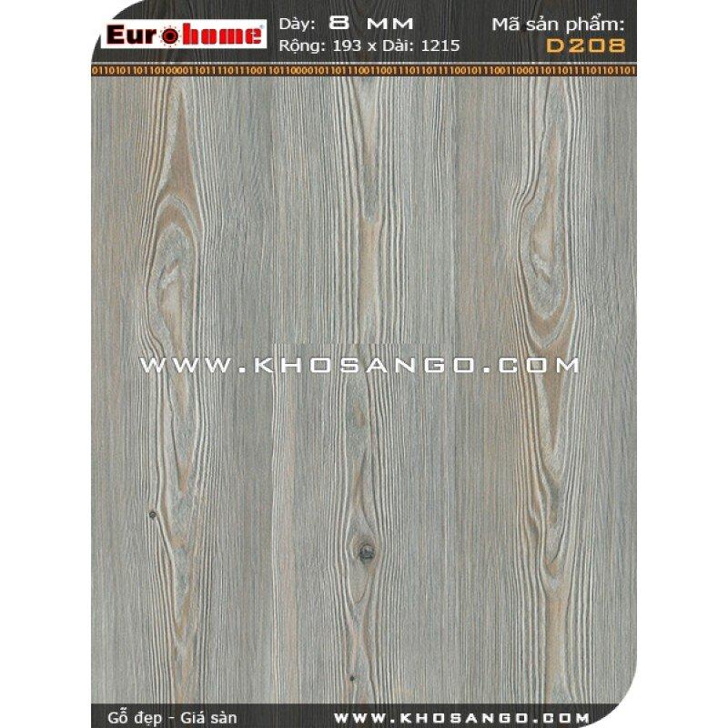 Sàn gỗ Eurohome D208