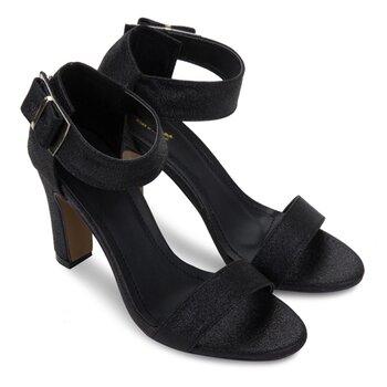 Sandal cao gót 9cm màu đen Senta-396274