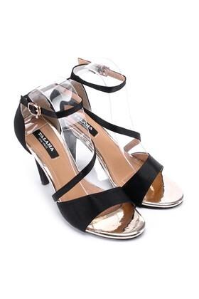 Sandal cao gót thời trang màu đỏ-C031
