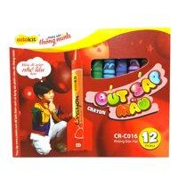 Sáp màu Thiên Long CR-C016 - 12 màu