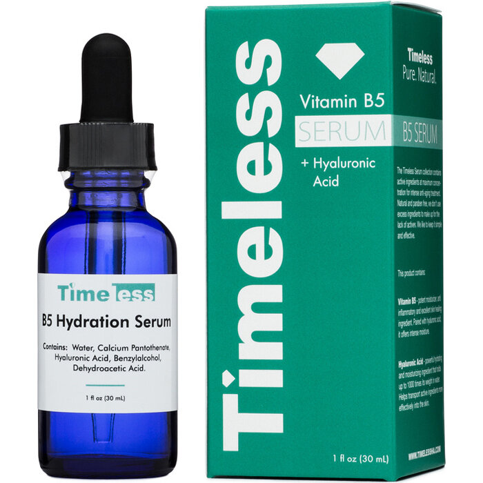 Serum dưỡng ẩm ,đặc trị se lỗ chân lông Vitamin B5 + Hyaluronic Acid Timeless