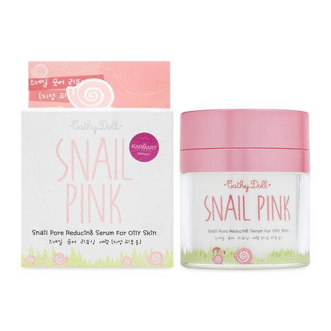 Serum dưỡng da trắng hồng Cathy Doll Snail Pink For Oily Skin 50ml