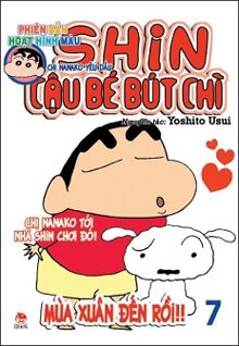 Shin - Cậu Bé Bút Chì (Phiên bản hoạt hình màu - Tập 7)