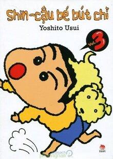 Shin - Cậu bé bút chì (T3) - Yoshito Usui