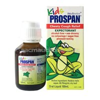Siro chữa ho Prospan dành cho trẻ sơ sinh 20ml