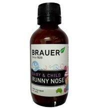 Siro trị sổ mũi brauer runny nose 100ml