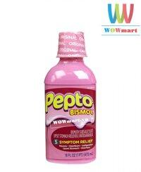 Siro trị tiêu chảy Pepto Bismol 473ml