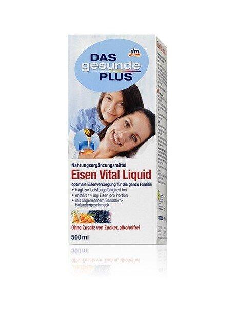 Siro vitamin tổng hợp Das Gesunde Plus 500ml