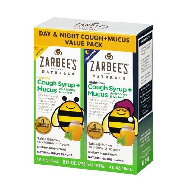 Siro Zarbees Cough Syrup + Mucus – tiêu đờm 118ml