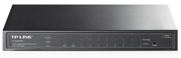 Smart Switch TP-Link  TL-SG2210P - 8 Cổng