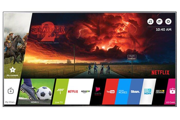 Smart Tivi LED LG 49UK6320PTF - 49 inch, Full HD (1920 x 1080), 4K, ThinQ AI