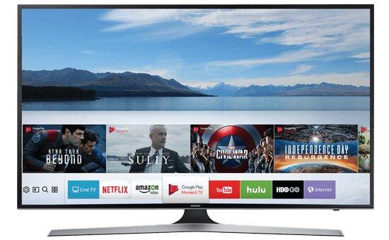 Smart Tivi Samsung UA55MU6100 (55MU6100) - 55 inch, 4K - UHD (3840 x 2160)