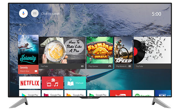 Smart Tivi Sharp LC-40SA5500X - 40 inch, Full HD (1920x1080)