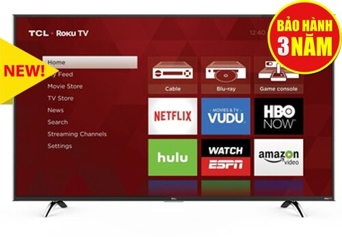 Smart Tivi TCL 49P1-SF - 49 inch, Full HD (1920 x 1080px)