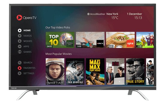 Smart Tivi Toshiba 43U7650 - 43 inch, Full HD (1920 x 1080)