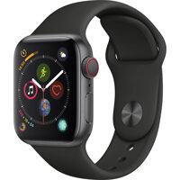 Smart Watch Apple Watch Series 4 - 40mm, GPS+Cellular, viền nhôm, dây cao su