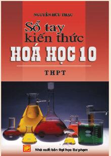 Sổ tay kiến thức Hóa học 10