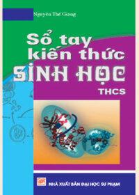 Sổ tay kiến thức Sinh học THCS