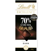 Socola Lindt Excellence 70% cacao thanh 100g