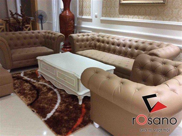 Sofa cổ điển mã 604