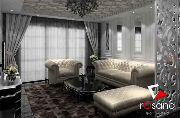 Sofa cổ điển mã 606