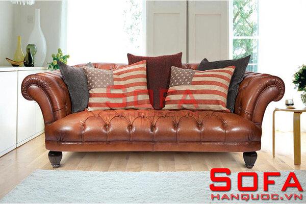 Sofa da mã 209