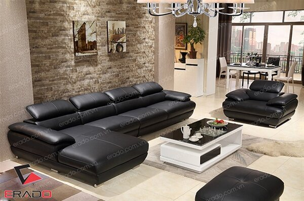 Sofa da mã 254
