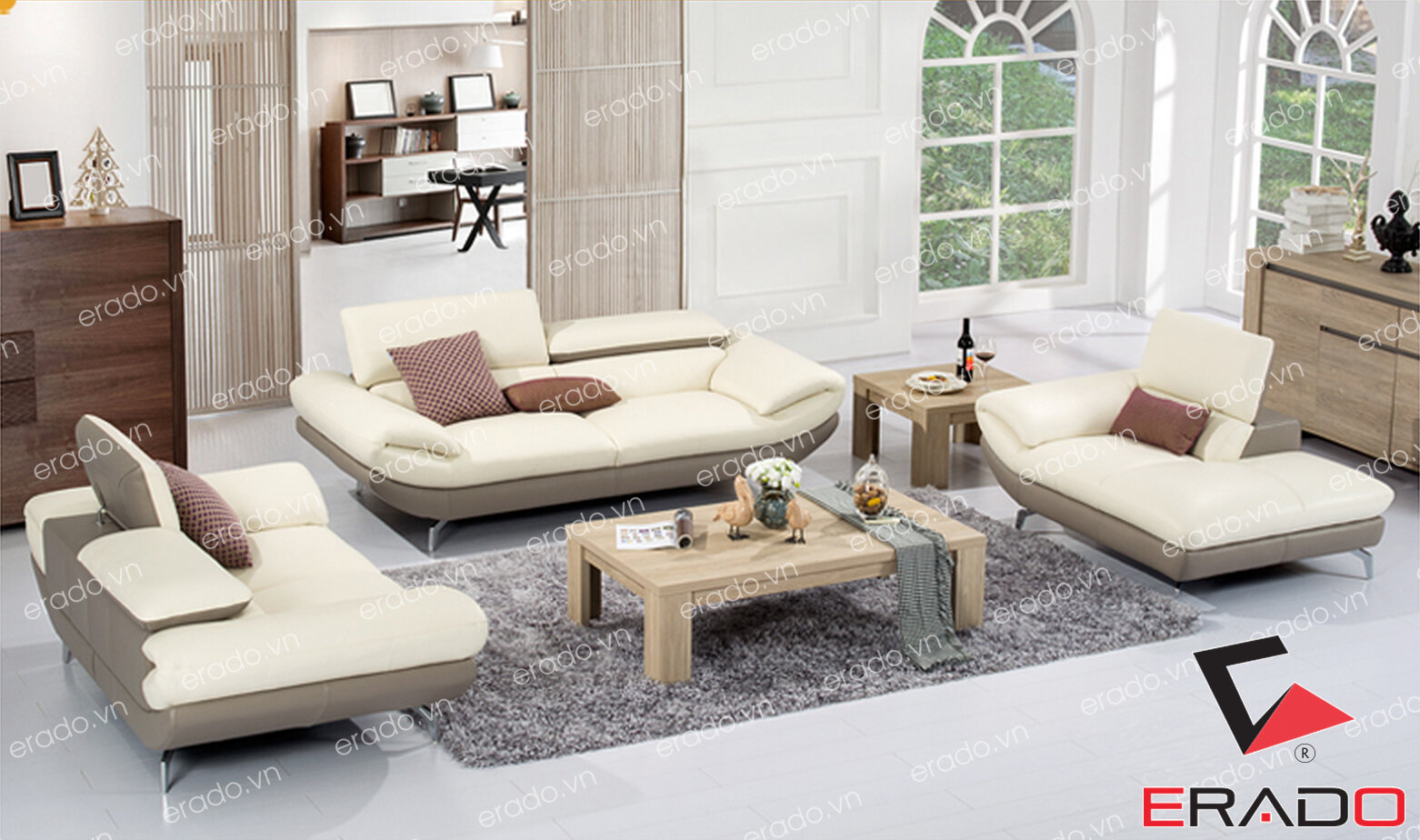 Sofa da mã 297