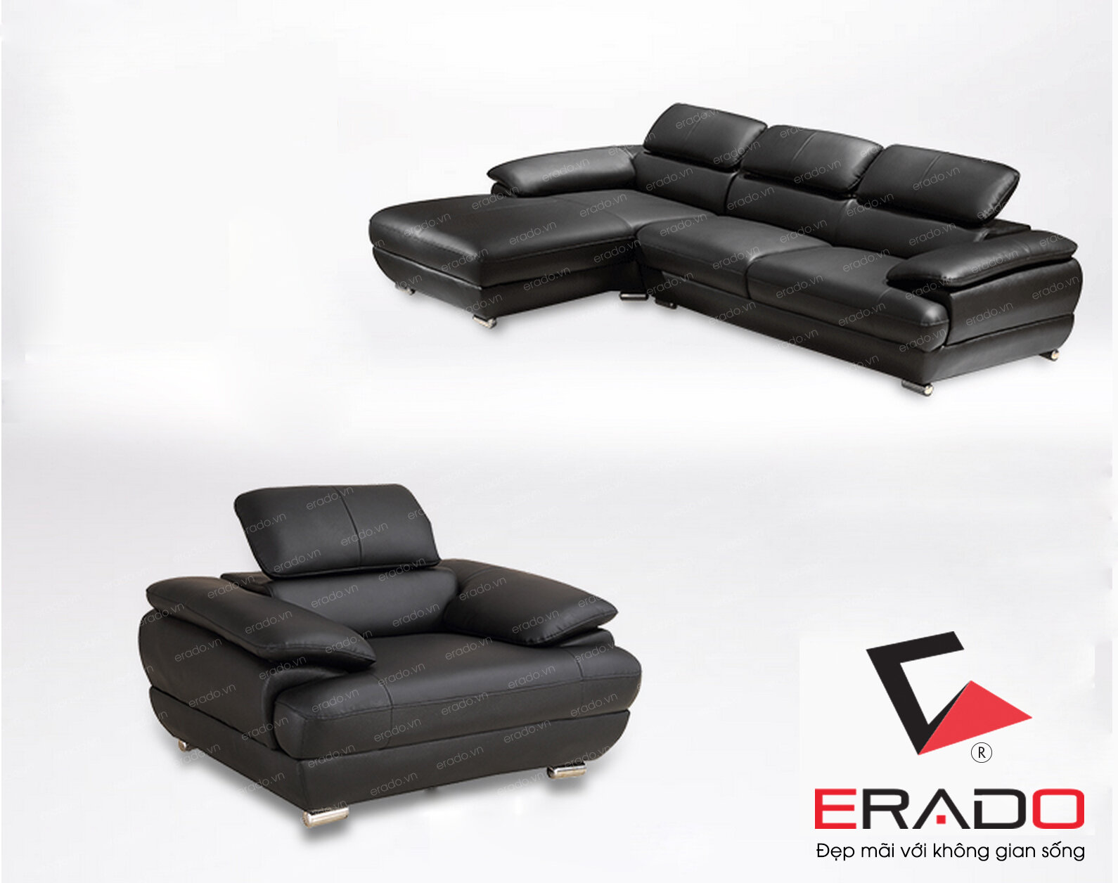 Sofa da mã 342