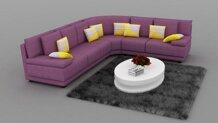 Sofa nỉ đẹp SN68