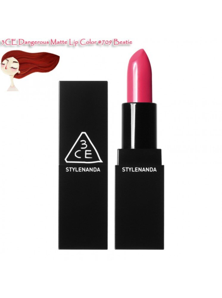 Son 3CE Dangerous Matte Lip Color #807 Hypnotic