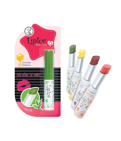 Son dưỡng chuyển màu môi Lipice Sheer Color Q - 4 màu
