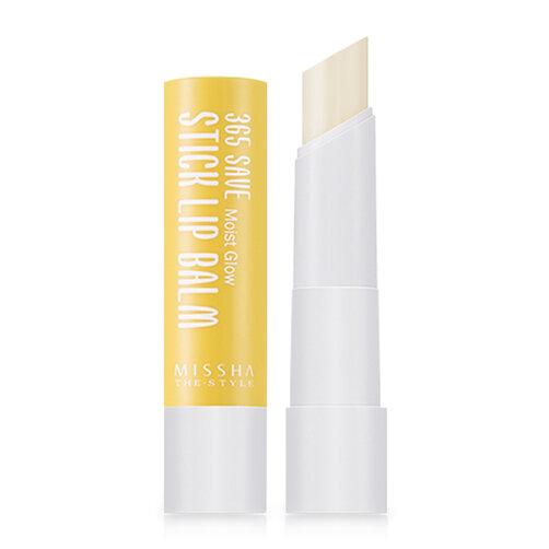 Son dưỡng Missha The Style 365 Save Stick Lip Balm Moist Glow 3g