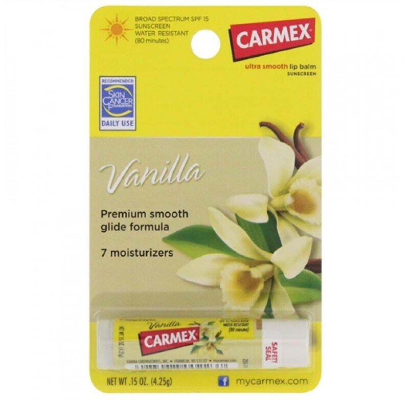 Son dưỡng môi Carmex Vanilla
