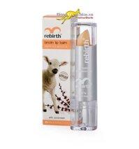 Son dưỡng môi chống nắng giàu Vitamin E Rebirth lanolin lip balm