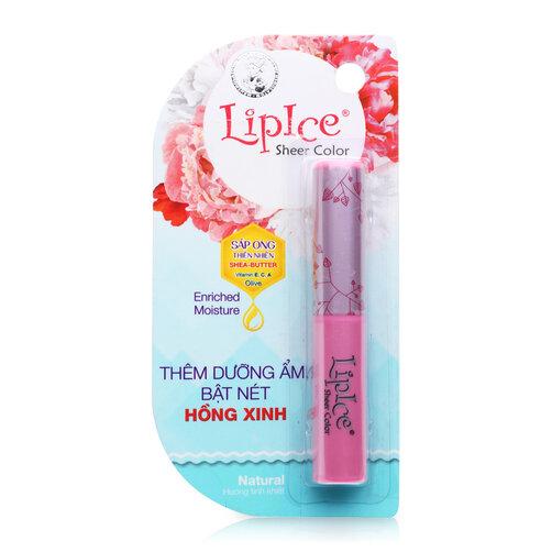 Son dưỡng môi LipIce Sheer Color Natural 2g
