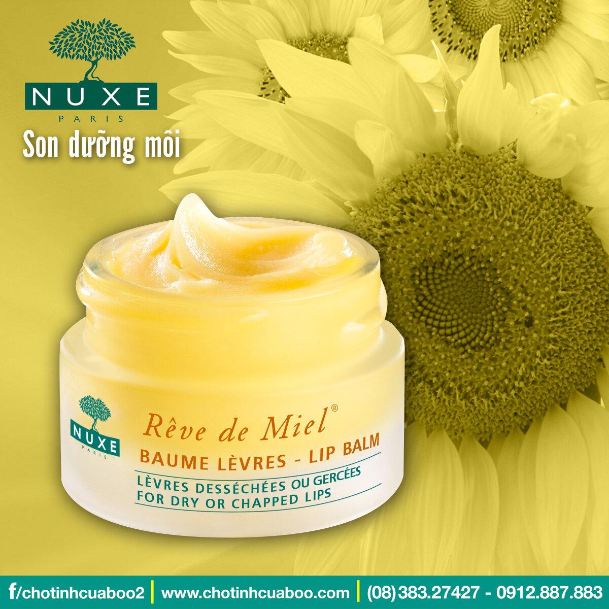 Son dưỡng môi Nuxe Reve de Miel Lip balm