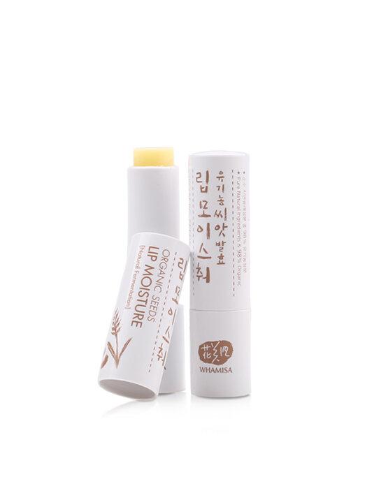 Son dưỡng môi Whamisa Organic Seeds Lip Moisture